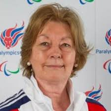 Anne Cutcliffe, OBE former instructor and member of the Parlympic committee